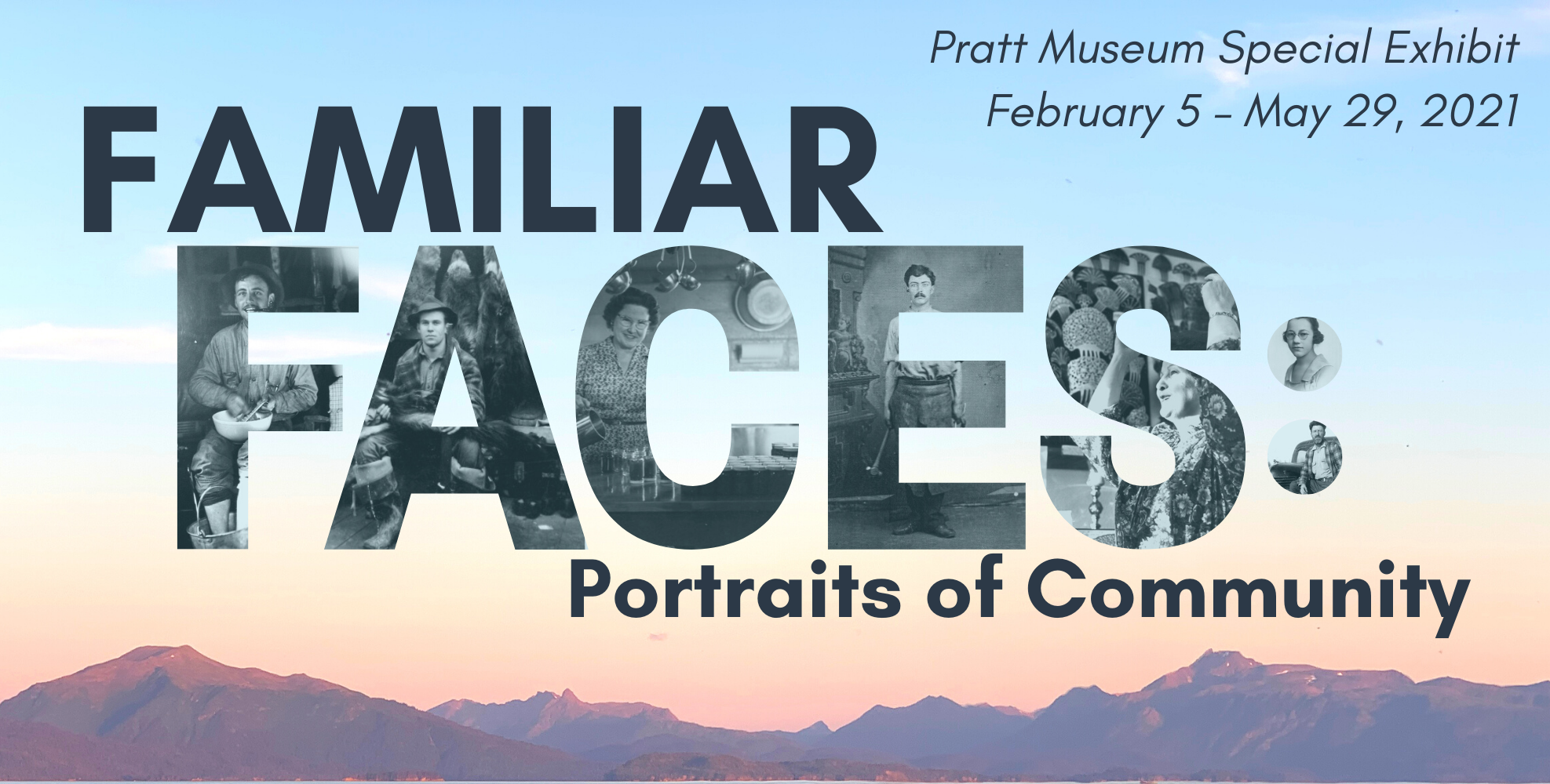 Familiar Faces: Portraits of Community 2021 Exhibit image